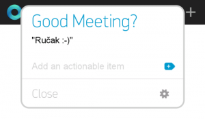 Any.DO - akcije posle sastanka
