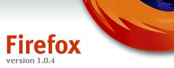 Firefox 1.0.4 - vreme je za upgrade :-)