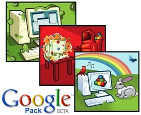 Google Pack - novi