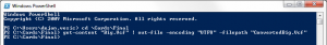 Powershell - UTF8 conversion