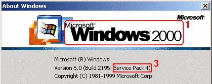 Windows 2000 - WinVer