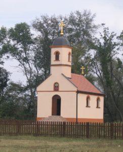 Obedska bara: crkva majke Angeline