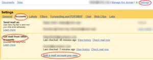 Gmail: dohvatanje pošte sa POP3 naloga