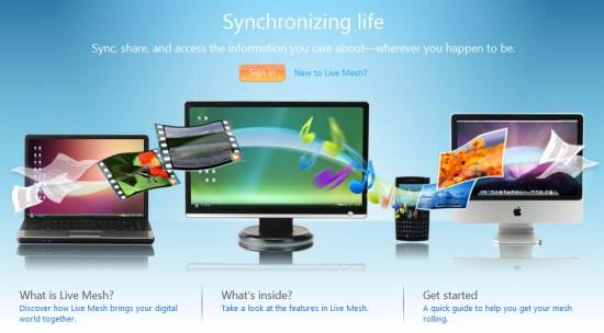 Microsoft Live Mesh sinhronizacioni servis