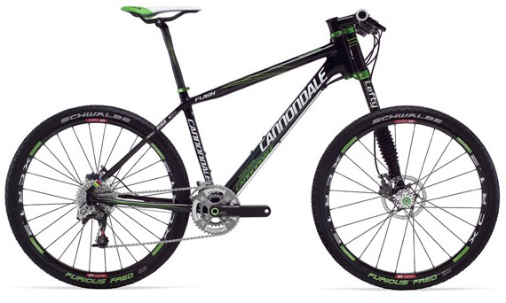 MTB (na slici Cannondale Flash Team)