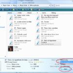 Vista: MP3 detalji za jednu pesmu
