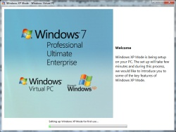 Windows 7: XP mode