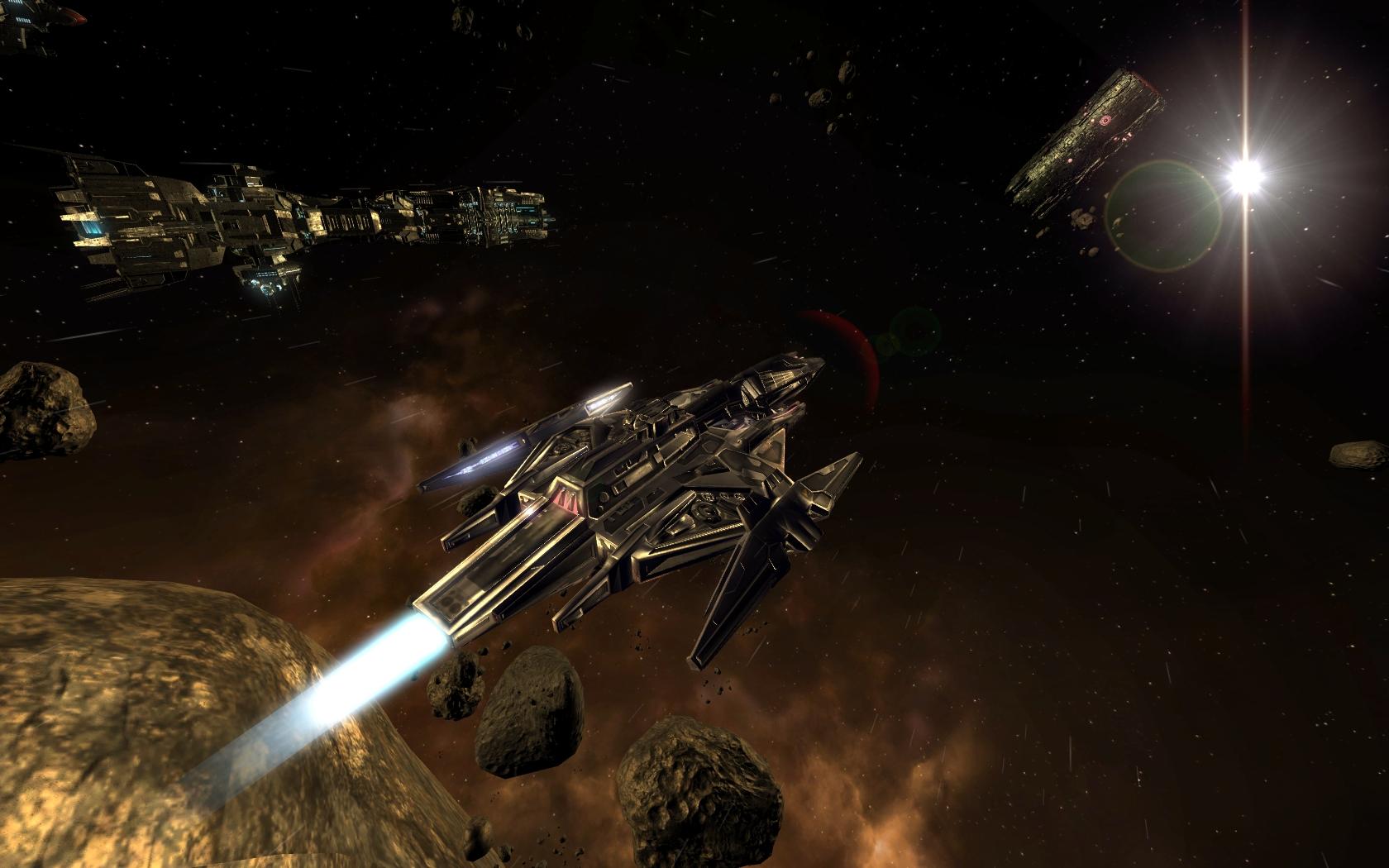 X3: Terran Conflict Rolling Demo